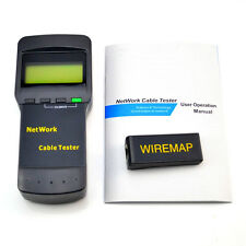 For SC8108 CAT5 RJ45 Network LAN Length Telephone Cable Location Tester Meter WS