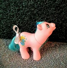 💙Vintage My Little Pony *BABY RAINFEATHER* {Drink 'N Wet Baby Ponies} blue duck