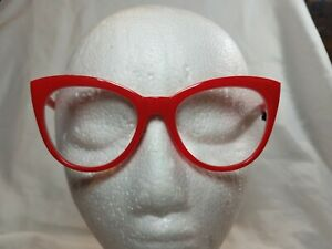 NEW 2.50 Oversized Cat Eye Red Betsey Johnson Reading Glasses