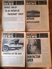 Vintage Magazines OLD MOTOR NEWS Numbers 11-54  1971-76 , Missing bargain