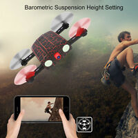 G-sensor 0.3MP Camera WIFI FPV RC Quadcopter Mini Selfie Foldable Pocket Drone