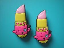 Jibbitz Croc Clog Charm Button Plug Accessorie Embellishment For Holes Lip Stick