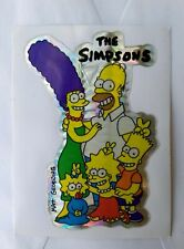 1980s The Simpsons Vending Machine Prism Shiny Sticker Bart Homer Marge Lisa Mag