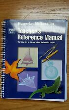 Everyday Mathematics Hardcover, Professional Teacher's Reference Manual 4-6
