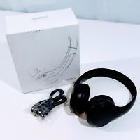 Black Wireless Compact Over the Ear Headphones  By Vamco