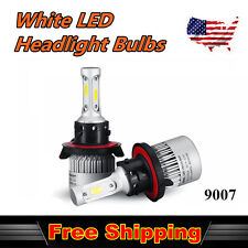 US 2x LED Headlight High/Low Beam For 1997-2002 Ford F-150 30W COB Bulb White