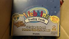 WEBKINZ : SERIES 2 TRADING CARD BOOSTER CASE 10-BOXES NEW SEALED Wholesale Lot