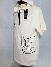 Under Armour Ua Unstoppable Mens Xl Graphic Hoodie T Shirt Tee Nwt White Fitted