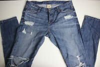 Banana Republic Womens Skinny Distressed Jeans 29