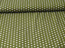 Jersey Sterne Verena grün von Swafing (Stoff Meterware ab 0,25m)