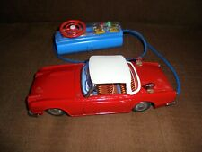 Vintage Bandai Triumph TR4 Japan Alps Battery Car in Working Condition