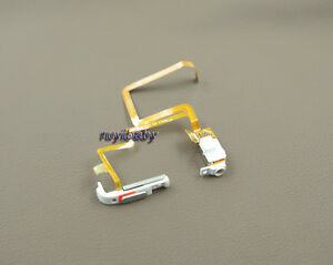white audio headphone jack hold switch flex for ipod 6th classic thick 160gb