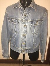 Vintage mens denim Lee jacket m/L 1980's