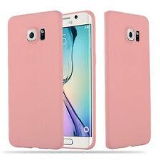 Funda Silicona para Samsung Galaxy S6 EDGE PLUS Cubierta Proteccíon TPU Cover Ca