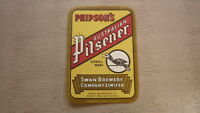 OLD AUSTRALIAN COLLECTABLE BEER LABEL, SWAN BREWERY PERTH WA, PHILPSONS PILSENER
