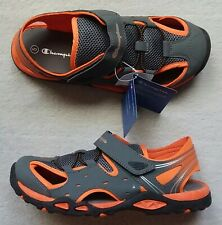 CHAMPION Boys Shoes FISHERMAN SANDALS Athletic SLIPPERS Hiking SLIDE Size 5 NEW