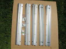 Very Rare ORIGINAL Studer A807 2x Aluminum Railings for Rollaround Rack or Stand