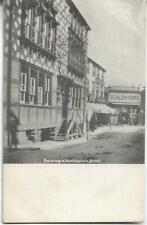 More details for 1904 northwich raising a hotel cheshire postcard with king edward ½d green 407