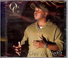 OG DOMINO  Get It Right  New Sealed Gospel CD