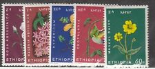 Ethiopia Sc 434-8 NH issue of 1965 - Flowers