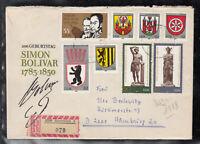 GDR DDR Brief Eischreiben mit - Sonder- SbR-Zettel 979 / 5230 Sömmerda 2/ 1983