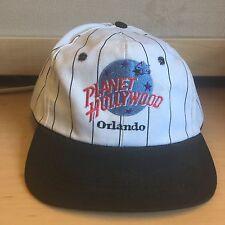 RARE VTG Planet Hollywood Orlando SnapBack Hat