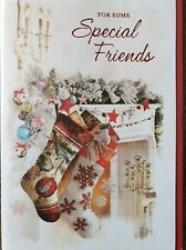 FOR SOME SPECIAL FRIENDS - FRIENDS CHRISTMAS CARD