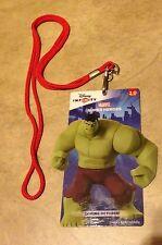 Disney 2.0 Marvel Super Heroes Hulk Video Game.Advertising Card Necklace