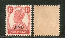 India JIND / JHIND / JEEND State KG VI 1An Postage SG 140 / Sc 168 MNH Fine