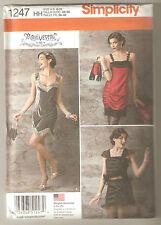 Simplicity Sewing Pattern 1247 Miss Charleston Flapper Dress Costume Sz 6-12