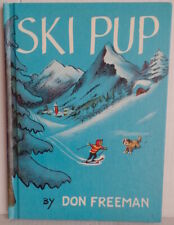 Ski Pup St Saint Bernard Dog Don Freeman Hb Children's Book 1st 1963 Edit Skiing