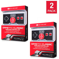 🔥 2 PACK GamePad Wireless Controller for NES Classic Edition, Mini, Wii, Wii U