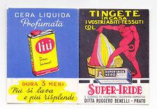 Y756-SUPER IRIDE-DITTA BENELLI PRATO CARTONCINO PORTA AGHI