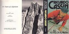 Mountaineering: Cassin, 50 Years of Alpinism, 1st UK, Hc, Signed!