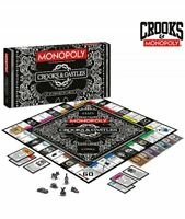 Crooks & Castles Collector's Edition Monopoly Board Game LIMITED EDITION