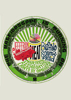 JEFFERSON AIRPLANE/CANNED HEAT/BUFFALO SPRINGFIELD - 1968 - Concert Poster Art