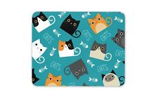 Cute Cats Mouse Mat Pad - Cat Kitten Mum Sister Auntie Gift PC Computer #8746