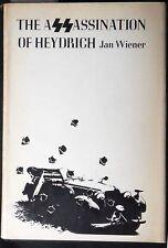 The Assassination of Heydrich Jan G. Weiner HB/DJ 1st Printing Fine/VG