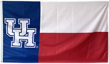 State Of Texas Houston Cougars Ncaa 3x5Ft Banner Flag Us Shipper