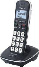 Emporia GD61 Festnetz-Telefon Analog schnurlos, beleuchtet, Großtasten, Senioren