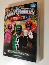 Power Rangers S.P.D. Catastrofe (Avventura Fantasy 2005) DVD vol 9 -  3 episodi
