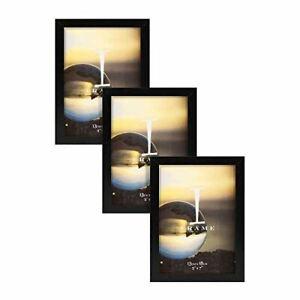 Widdop 5' x 7' - iFrame Set of 3 Photo Frames Black