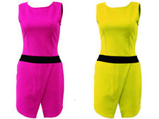 Unbranded Women's Scoop Neck Sleeveless Jumpsuits & Playsuits