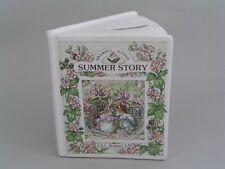 ROYAL DOULTON BRAMBLY HEDGE SUMMER STORY BOOK MONEY BOX.