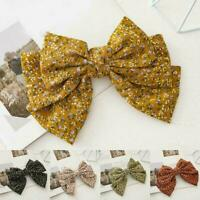 Hair Bow Ties Hair Clips Two Layer Butterfly Hairpin Bowknot Girl Hairpin B8P2