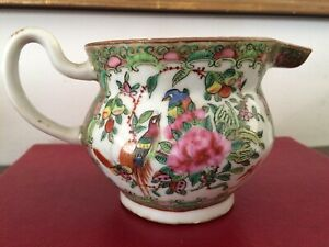 rose china tea set 19c.