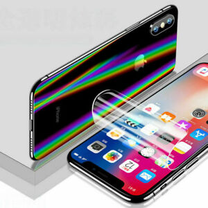 Full Screen Protector Soft plastic Film Cover For iPhone 12 Pro X Max XR 11 Mini