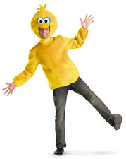 Sesame Street Big Bird Adult Halloween Costume Licensed TV Show Tunic Top 50631D