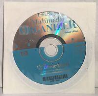 Print Shop Multimedia Organizer Vintage Windows 3.1 95 98 Software CD-ROM