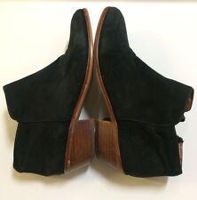 Sam Edelman Women's Black Suede Petty Ankle Boots Size 6